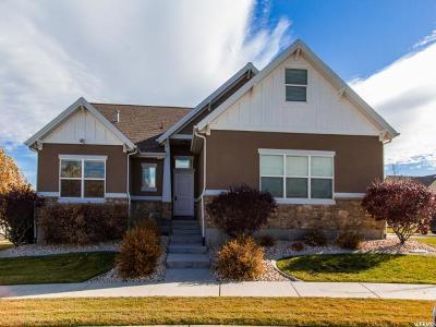 South Jordan Single Family Home For Sale: 3234 W Hunters Moon Pl S