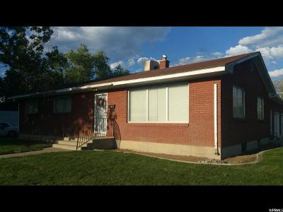 Orem Single Family Home For Sale: 110 N 800 W