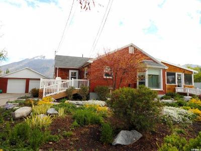 Springville Single Family Home For Sale: 355 E 1600 S