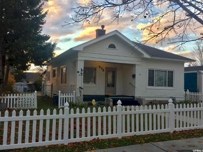 Brigham City Single Family Home For Sale: 572 S 200 E