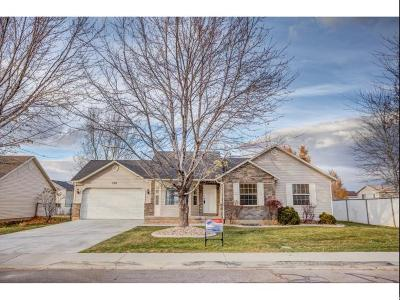 Santaquin Single Family Home For Sale: 306 W 700 N