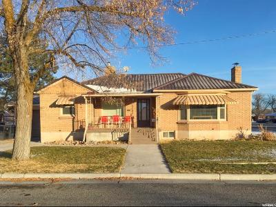 Tremonton Single Family Home For Sale: 155 E 300 N