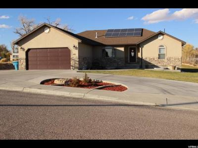 Cleveland UT Single Family Home For Sale: $312,900