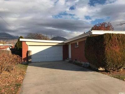 Orem Single Family Home For Sale: 1459 S 200 E