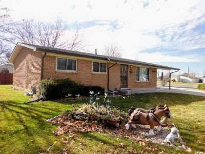 Brigham City Single Family Home For Sale: 335 W 500 N