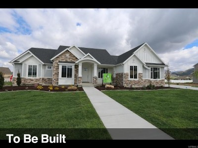 Lehi Single Family Home For Sale: 1590 W Morning View Way N #9
