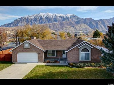 Orem Single Family Home For Sale: 15 S 940 E