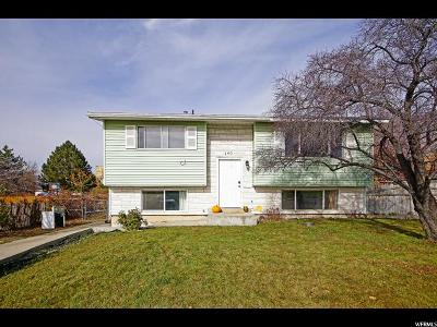 Pleasant Grove Single Family Home For Sale: 140 W 800 N