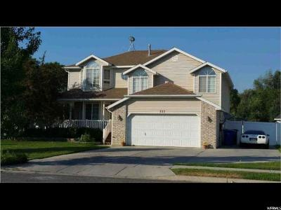 Lehi Single Family Home For Sale: 132 W Frontage Rd
