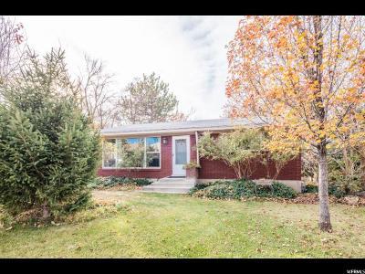 Pleasant Grove Single Family Home For Sale: 1051 N 400 E