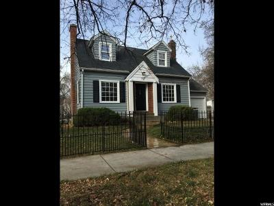 Logan Single Family Home For Sale: 307 N 400 W