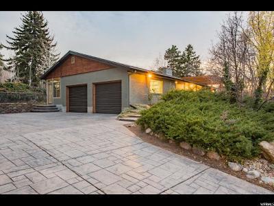 Salt Lake City Single Family Home For Sale: 3746 E Adonis Dr S