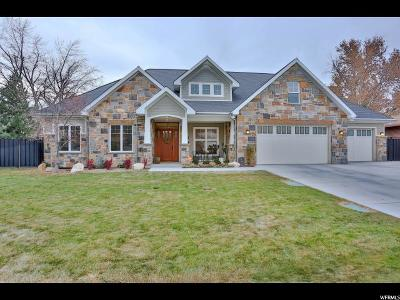 Cottonwood Heights Single Family Home For Sale: 1785 E Meadow Downs Way S