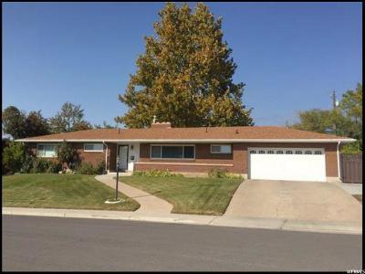 Orem Single Family Home For Sale: 720 W Sunny Ln