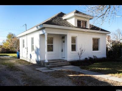 Brigham City Single Family Home For Sale: 22 S 200 E