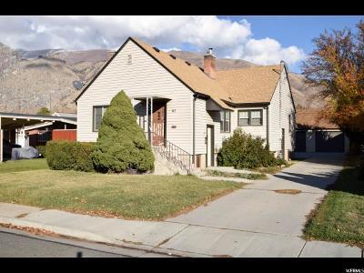 Springville Single Family Home For Sale: 87 S 100 E