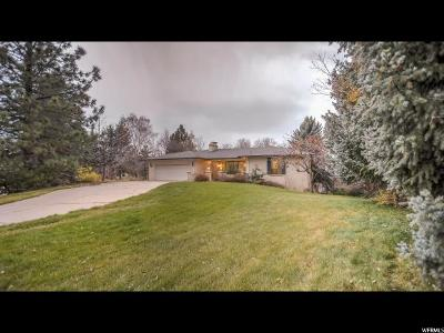 Layton Single Family Home For Sale: 2837 E Sky View Dr
