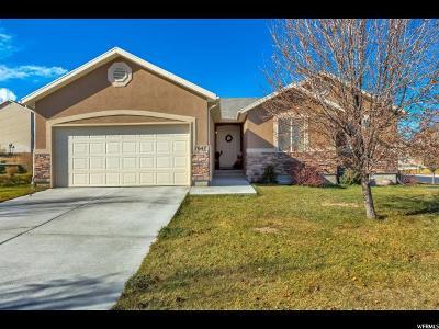 Eagle Mountain Single Family Home For Sale: 7647 N Jimmy Ln E