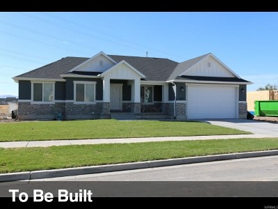 Mapleton Single Family Home For Sale: 1394 S 1450 W #7