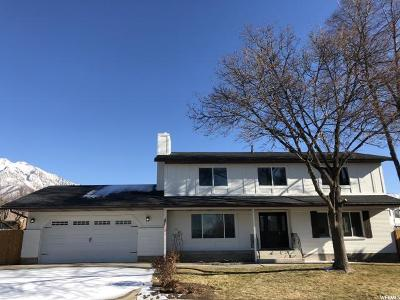 Orem Single Family Home For Sale: 714 W 1650 N