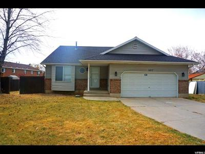 Orem Single Family Home For Sale: 327 W 550 N