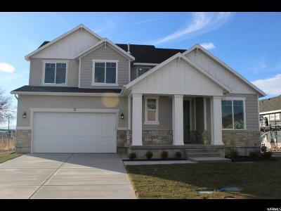 Lehi Single Family Home For Sale: 71 N Revere Ln