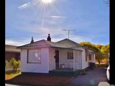 Price UT Single Family Home For Sale: $40,000