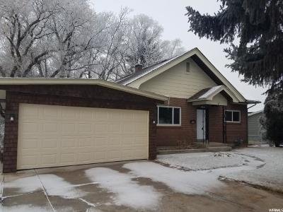 Brigham City Single Family Home For Sale: 137 N 500 St W