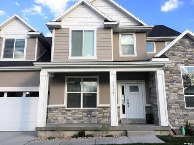 Lehi Single Family Home For Sale: 1777 S 900 E