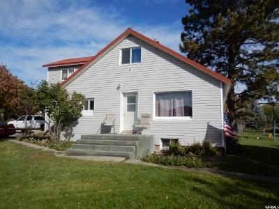 Preston Single Family Home For Sale: 5363 E Cub River Rd