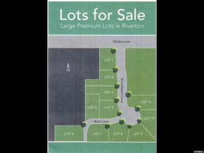 Riverton Residential Lots & Land For Sale: 1593 W Barb Ln S