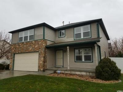 Stansbury Park Single Family Home For Sale: 482 N Water Wheel Ln E