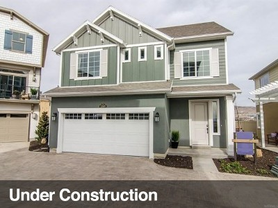 Lehi Single Family Home For Sale: 3187 W 2400 S #412
