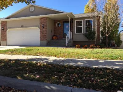 Lehi Single Family Home For Sale: 1731 N 2520 W