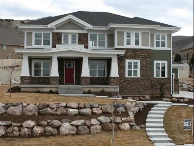 Herriman Single Family Home For Sale: 5367 W Aurora Vista Dr S