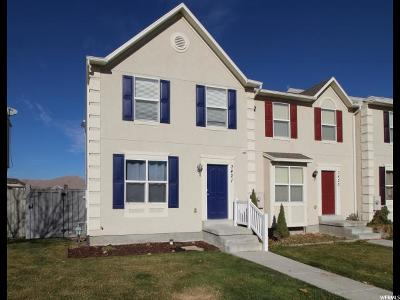 Eagle Mountain Townhouse For Sale: 3421 E Dundee Dr