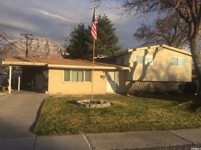 Provo Single Family Home For Sale: 1154 N 800 W