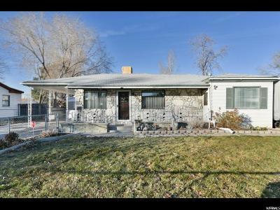 Salt Lake City Single Family Home For Sale: 4350 W 5175 S