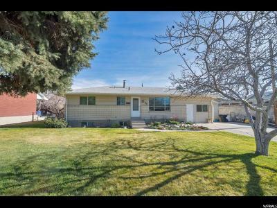Orem Single Family Home For Sale: 26 N 750 W
