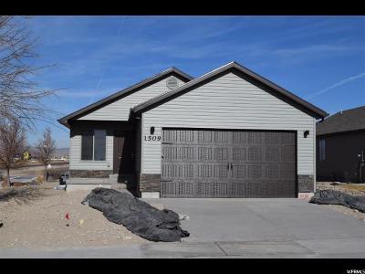 Eagle Mountain Single Family Home For Sale: 1509 E Shadow Dr