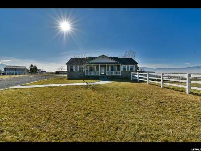Erda Single Family Home For Sale: 753 W 3460 N