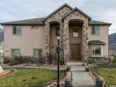 Spanish Fork Single Family Home For Sale: 2768 E Canyon Crest