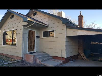 Helper Single Family Home For Sale: 518 Janet St