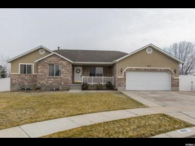 West Jordan Single Family Home For Sale: 8961 S Pinenut Cir