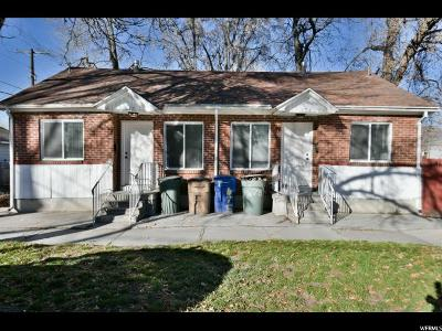 Salt Lake City Multi Family Home For Sale: 675 E Downington Ave