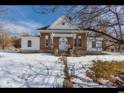 Willard Single Family Home For Sale: 1630 N Main