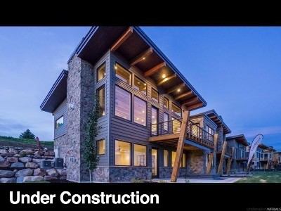 Weber County Townhouse For Sale: 3445 N 5250 E #603