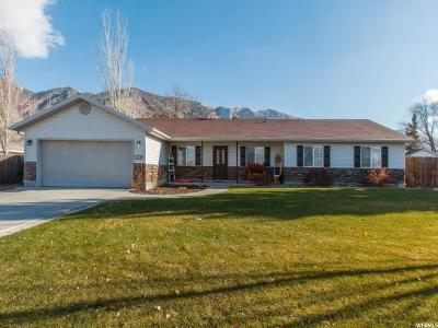 Brigham City Single Family Home For Sale: 1268 N 550 W