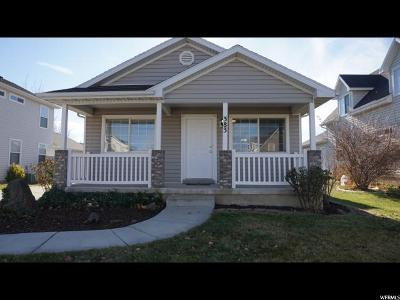 Saratoga Springs Single Family Home For Sale: 383 W Plum Pl