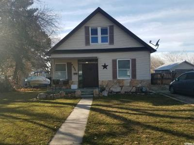Brigham City Single Family Home For Sale: 454 S 300 W